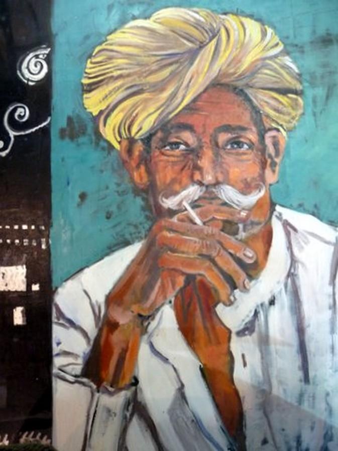 portrait peinture à l huile